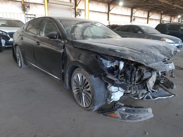 Salvage cars for sale from Copart Phoenix, AZ: 2017 KIA Cadenza PR