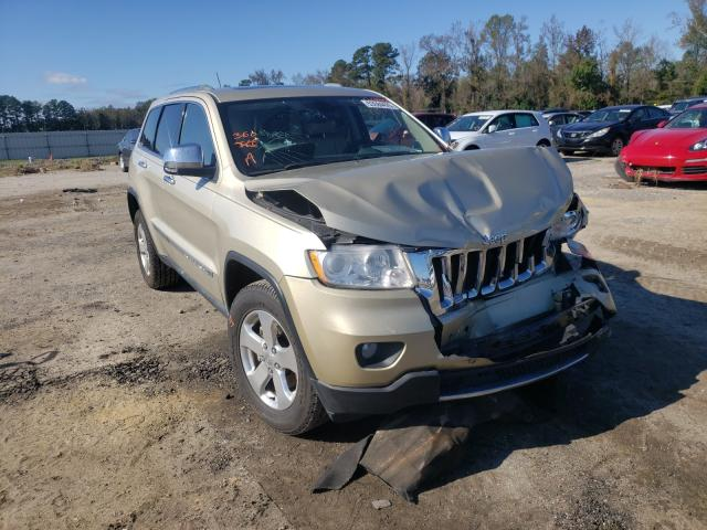Salvage cars for sale at Lumberton, NC auction: 2011 Jeep Grand Cherokee