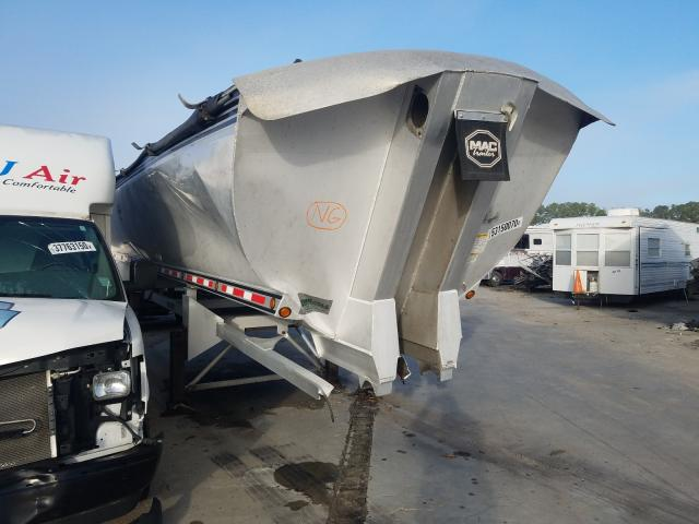 Mack Dump Trailer salvage cars for sale: 2010 Mack Dump Trailer