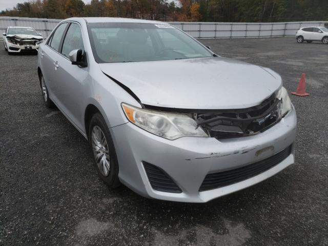 Salvage cars for sale from Copart Fredericksburg, VA: 2012 Toyota Camry Base