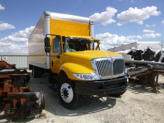 Salvage cars for sale from Copart Temple, TX: 2017 International 4000 4300