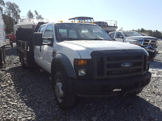 Salvage cars for sale from Copart Dunn, NC: 2008 Ford F550 Super