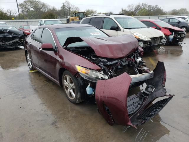 Salvage cars for sale from Copart Wilmer, TX: 2012 Acura TSX Tech