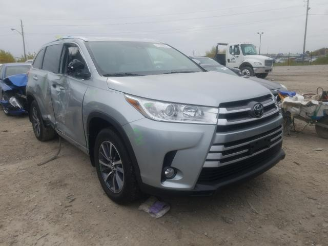 Salvage cars for sale from Copart Indianapolis, IN: 2018 Toyota Highlander