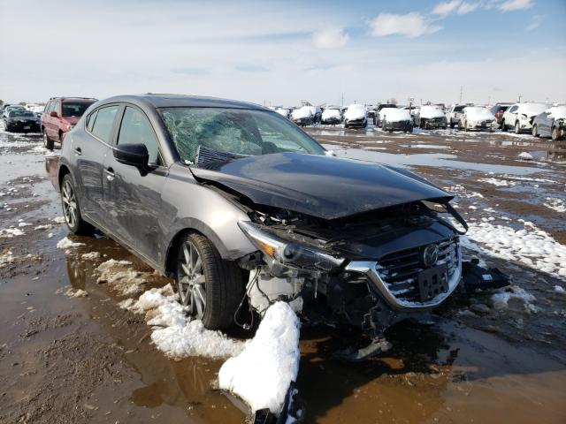 Salvage cars for sale from Copart Brighton, CO: 2018 Mazda 3 Grand Touring