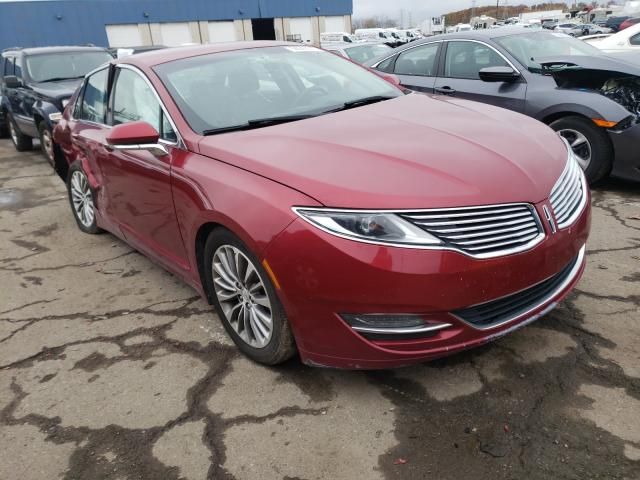 Salvage cars for sale from Copart Woodhaven, MI: 2014 Lincoln MKZ