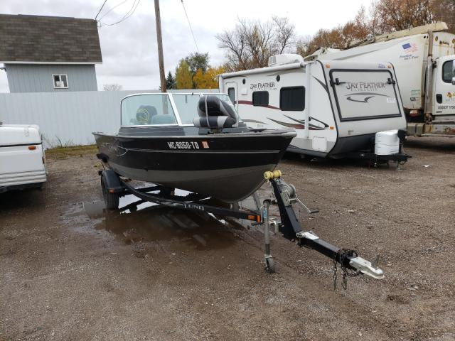 Salvage cars for sale from Copart Davison, MI: 2013 Lund Boat