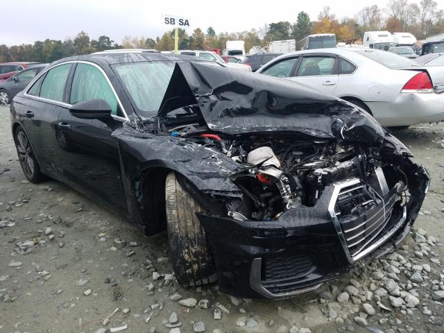 Salvage cars for sale from Copart Mebane, NC: 2019 Audi A6 Premium