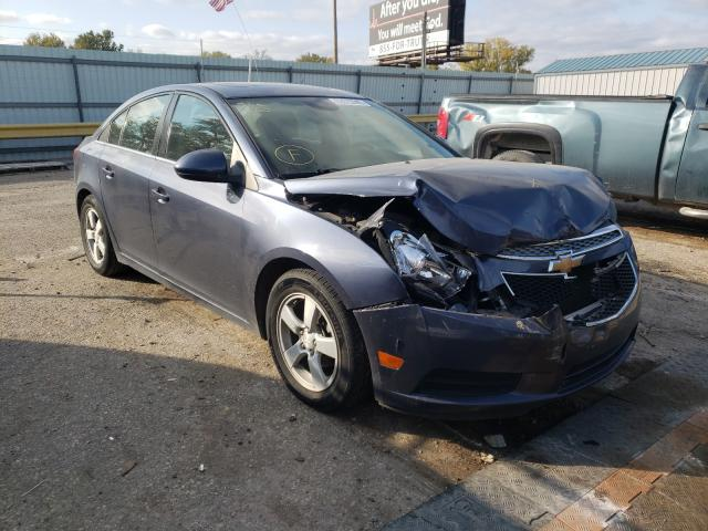 Salvage cars for sale from Copart Wichita, KS: 2013 Chevrolet Cruze LT