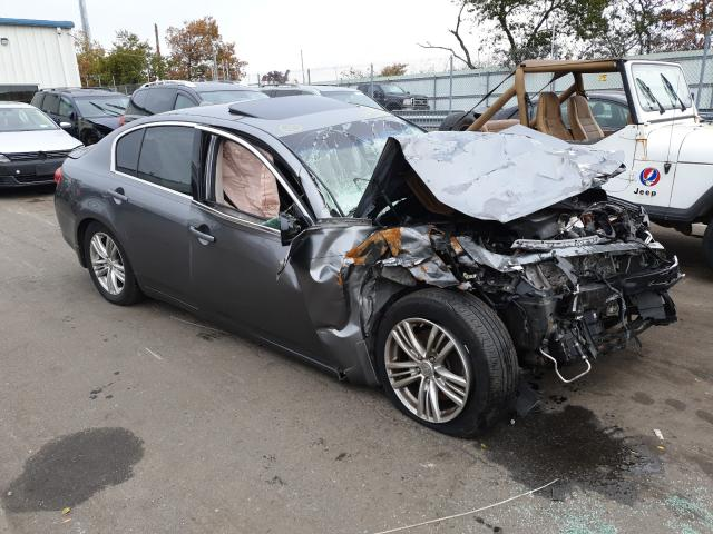Salvage cars for sale at Brookhaven, NY auction: 2011 Infiniti G37