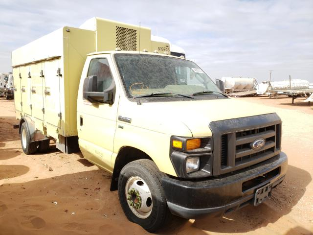 Salvage cars for sale from Copart Andrews, TX: 2010 Ford Econoline