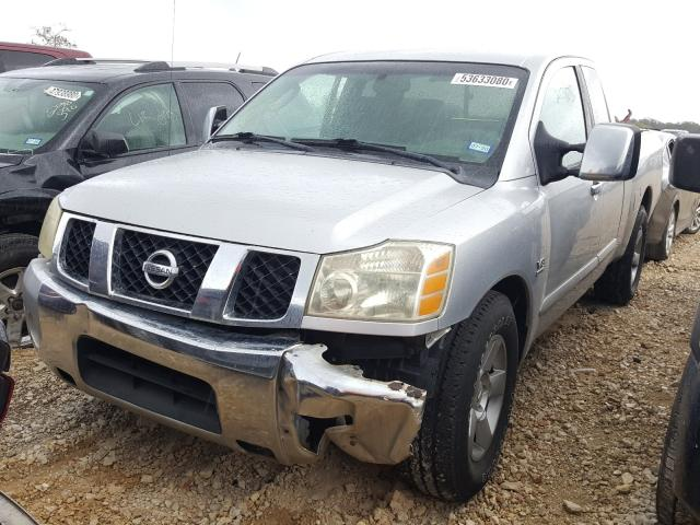 Salvage cars for sale from Copart New Braunfels, TX: 2004 Nissan Titan XE