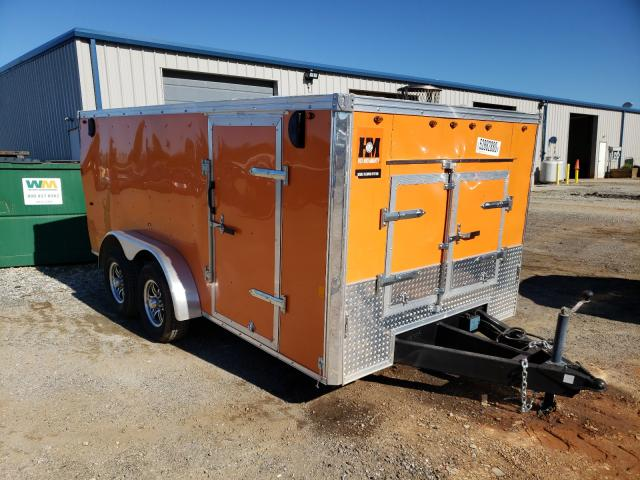 Salvage cars for sale from Copart Mocksville, NC: 2019 Intr Trailer