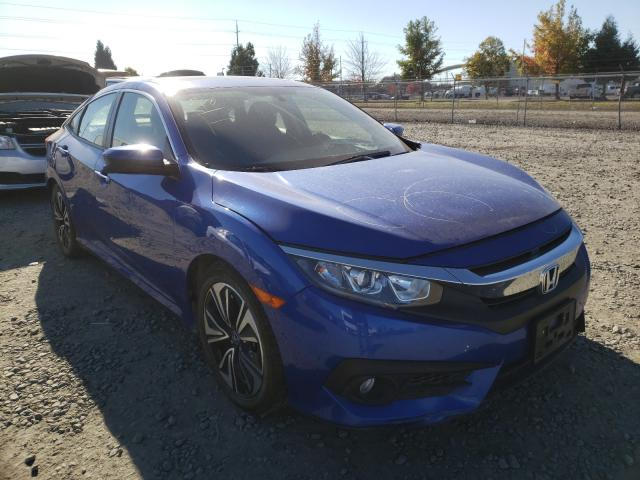 Salvage cars for sale from Copart Eugene, OR: 2018 Honda Civic EX