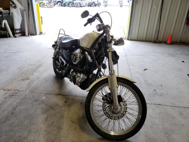 Salvage cars for sale from Copart Hurricane, WV: 2002 Harley-Davidson XL1200 C