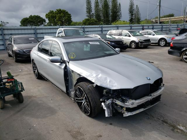 BMW salvage cars for sale: 2019 BMW 750 I