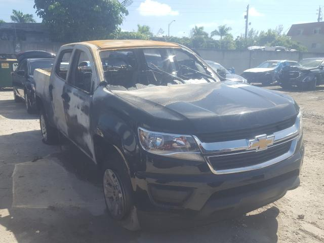 Salvage cars for sale from Copart Opa Locka, FL: 2019 Chevrolet Colorado L