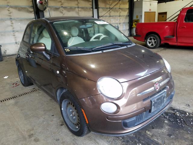 Fiat salvage cars for sale: 2012 Fiat 500 POP