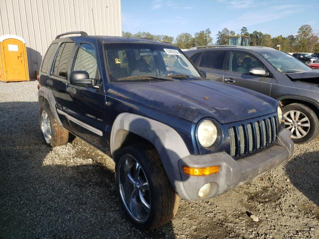 Jeep Liberty SP salvage cars for sale: 2002 Jeep Liberty SP