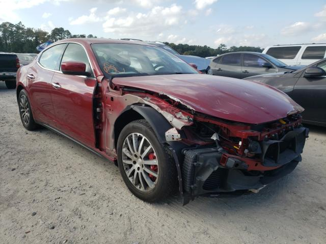 Maserati Ghibli S salvage cars for sale: 2016 Maserati Ghibli S
