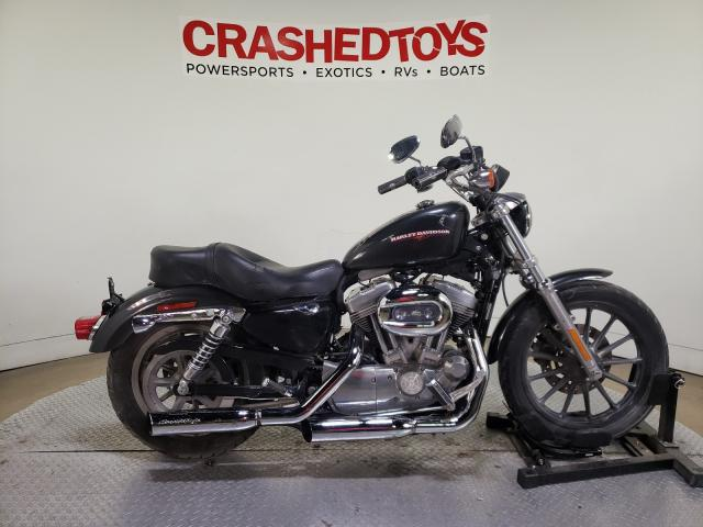 Harley-Davidson XL883 L salvage cars for sale: 2007 Harley-Davidson XL883 L