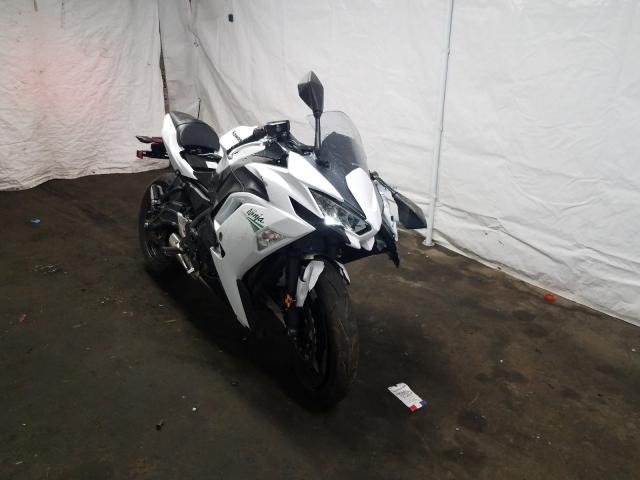 Salvage cars for sale from Copart Windsor, NJ: 2020 Kawasaki EX650 N