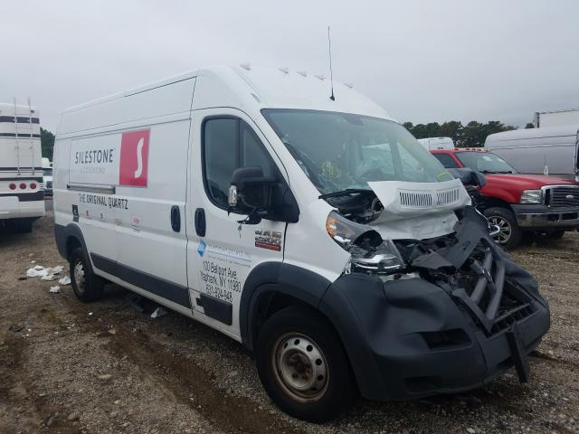 Salvage cars for sale from Copart Brookhaven, NY: 2015 Dodge RAM Promaster