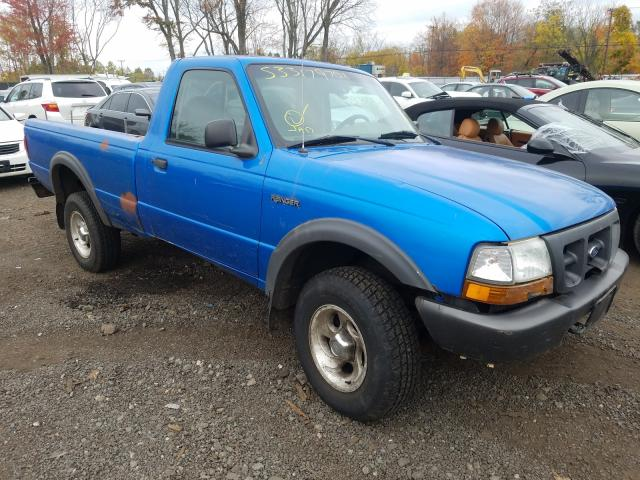 Salvage cars for sale from Copart New Britain, CT: 2000 Ford Ranger