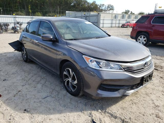 Salvage cars for sale from Copart Hampton, VA: 2017 Honda Accord LX
