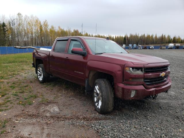 Salvage cars for sale from Copart Atlantic Canada Auction, NB: 2017 Chevrolet Silverado