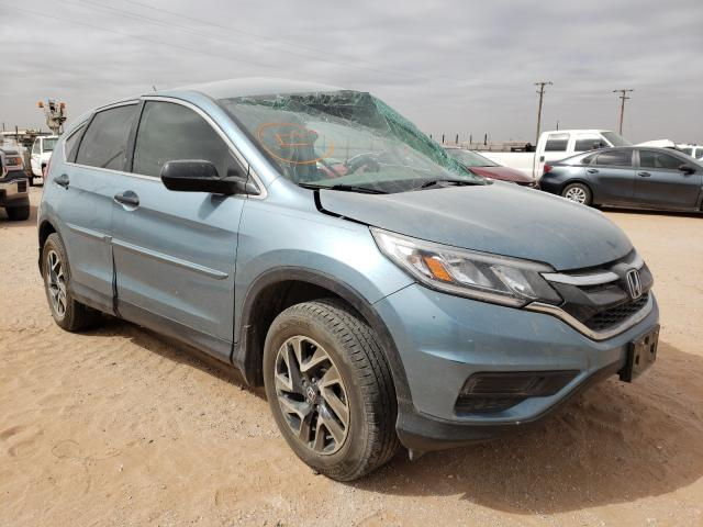 Salvage cars for sale from Copart Andrews, TX: 2016 Honda CR-V SE