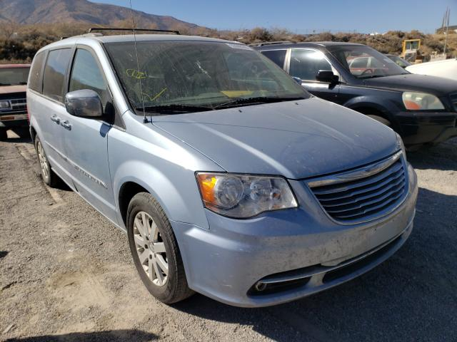 Salvage cars for sale from Copart Reno, NV: 2016 Chrysler Town & Country