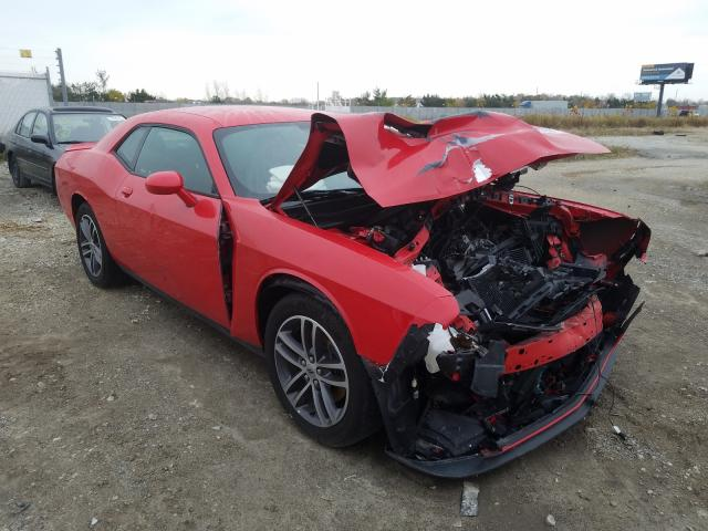 Salvage cars for sale from Copart Cicero, IN: 2019 Dodge Challenger