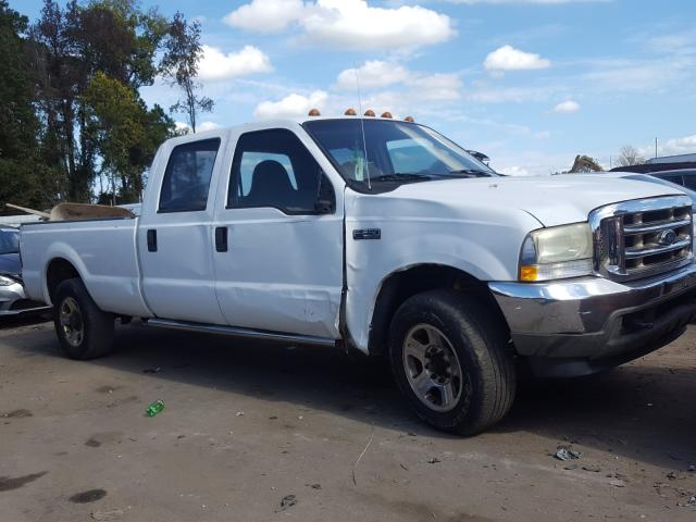Salvage cars for sale from Copart Dunn, NC: 2004 Ford F250 Super
