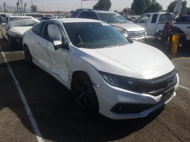 Salvage cars for sale from Copart Van Nuys, CA: 2019 Honda Civic Sport