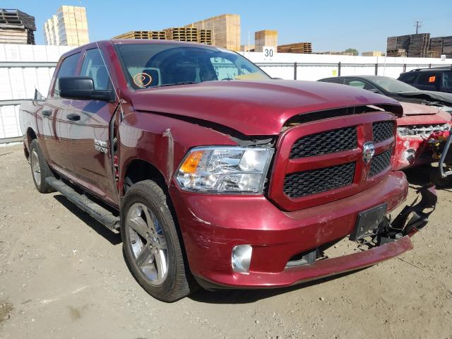 Salvage cars for sale from Copart Fresno, CA: 2015 Dodge RAM 1500 ST