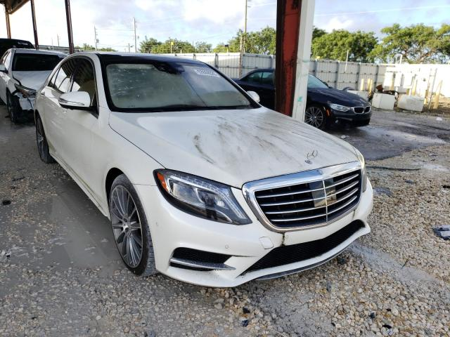 Salvage cars for sale from Copart Homestead, FL: 2016 Mercedes-Benz S 550