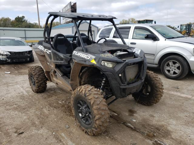 Salvage cars for sale from Copart Wichita, KS: 2020 Polaris RZR XP Turbo