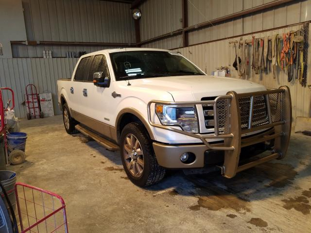 Salvage cars for sale from Copart Abilene, TX: 2013 Ford F150 Super