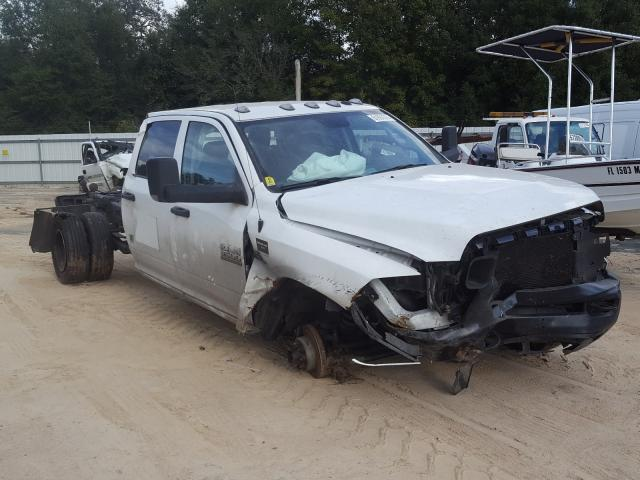 Salvage cars for sale from Copart Midway, FL: 2018 Dodge RAM 3500 ST