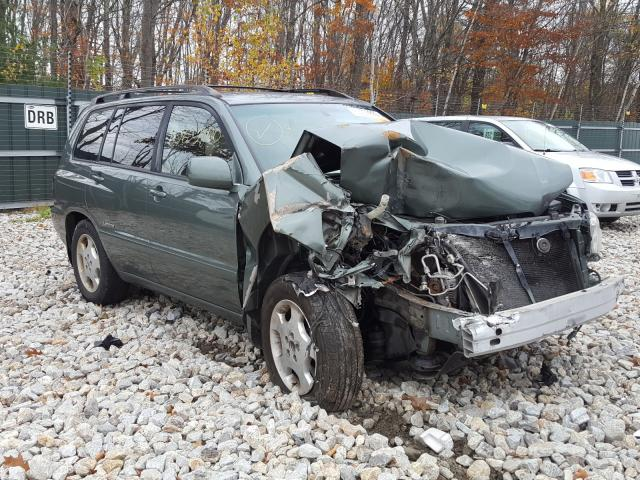 Salvage cars for sale from Copart Candia, NH: 2006 Toyota Highlander