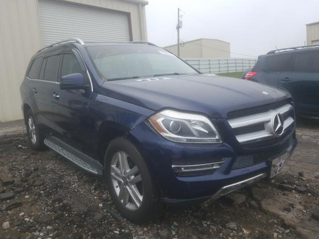 Salvage cars for sale from Copart Gainesville, GA: 2015 Mercedes-Benz GL 450 4matic