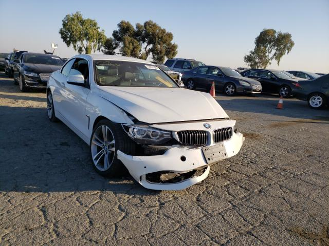 BMW 428 I Sulev salvage cars for sale: 2016 BMW 428 I Sulev