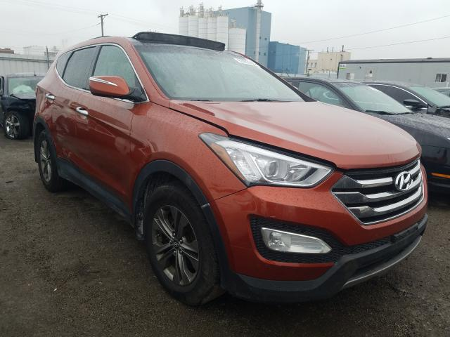 Salvage cars for sale from Copart Chicago Heights, IL: 2013 Hyundai Santa FE S