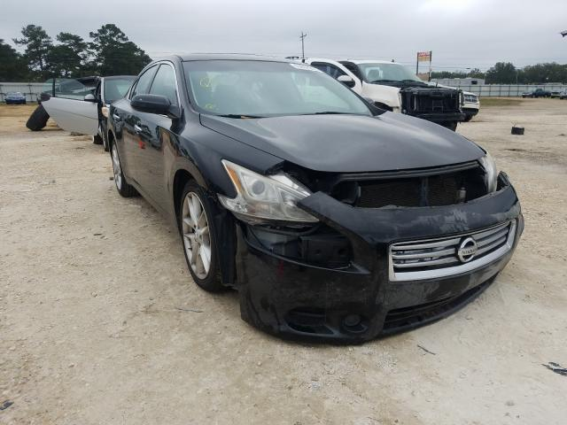 Salvage cars for sale from Copart Newton, AL: 2013 Nissan Maxima S