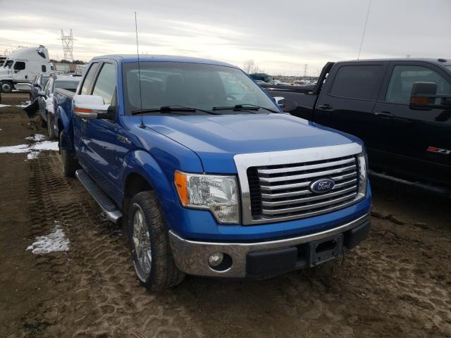 Salvage cars for sale from Copart Billings, MT: 2011 Ford F150 Super
