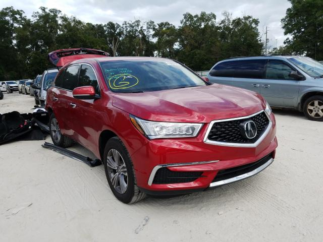 Salvage cars for sale from Copart Ocala, FL: 2020 Acura MDX