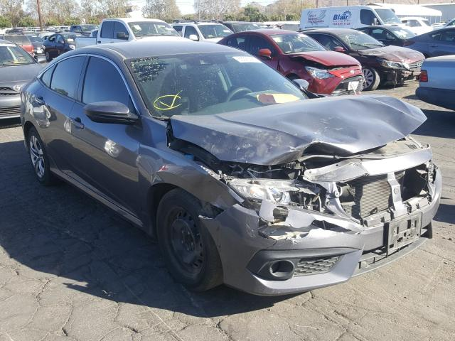 Salvage cars for sale from Copart Colton, CA: 2017 Honda Civic LX