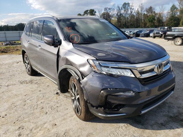 Vehiculos salvage en venta de Copart Lumberton, NC: 2019 Honda Pilot Touring