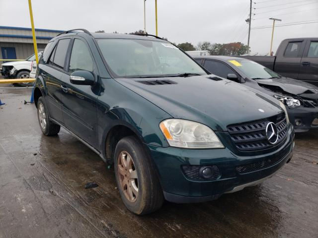 Mercedes-Benz ML 350 salvage cars for sale: 2006 Mercedes-Benz ML 350